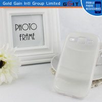 High Quality Transparent TPU Case For Samsung I8262, For Galaxy Core I8262 Protector