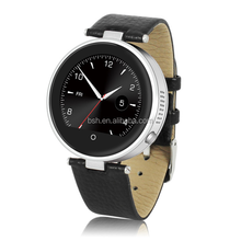 2015 Newest Wrist watch IOS and Andriod double system bluetooth man watch round touch screen Smart watch S365