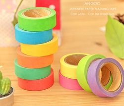 colorful painting decorative tape dispenser washi masking tape