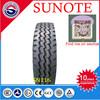 Truck tyre, cheap tire, GOOD PRICE SUNOTE brand, 1200R24