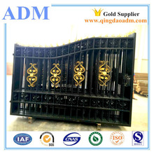 New type wrought iron gate models, wrought iron sliding gate