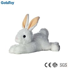 New design custom stuffed plush lying floppy rabbit soft toy