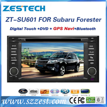 ZESTECH DVD Supplier 2 Din Touch screen Car stereo for SUBARU FORESTER Car stereo Dvd Gps Navigation System