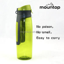 New products novel design dumbell bottle 100%Food grade tritan sports nutrition infuser water bottle