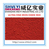 Factory supply iron oxide red hot sale 2015