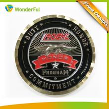 2014 new golden and black round metal souvenir commemorative coin