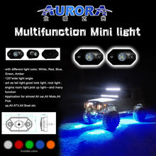 "High optical efficiency 2"" 9W RGB mini off road military vehicle"
