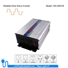 dc to ac 12v 220v 2000w modified sine wave solar power inverter with pv panel for motor/telecom