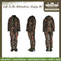 TA1-001K True Adventure Wholesale Kids Camouflage Hunting Products Windproof Tactical Winter Camo hunting suit