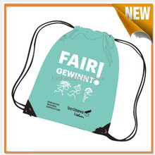 Promotional cheap customized drawstring bags
