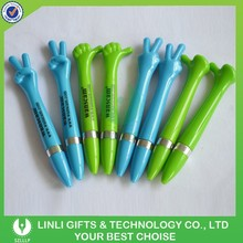 Available Color Finger Customized Plastic Ball Pen