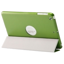 2015 Cheap price Meteor shower PU leather auto sleep smart cover hot sale case for iPad mini