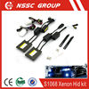H4 6000K Xenon HID Kits super slim HID KIT