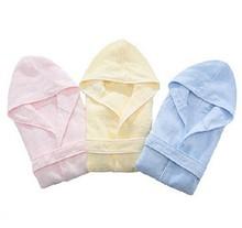 Newborn babies bathrobes, organic bamboo bathrobe for baby product