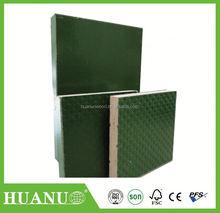 1 time hot press,poplar core, MR glue, 18mmX1220X2440, green film faced plywood/ marine plywood / building wood