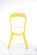 2015 Elegant modern solid antique styled salon replica high heel shoe bar stool club plastic colored bar chair