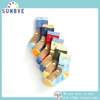 New Design Gesture Pattern Girls Socks Cheap Cotton Printed Socks Wholesale