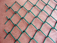 PVC coated wire chain link fence