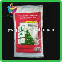 Yiwu recyclable plastic removal christmas tree packaging pe bag