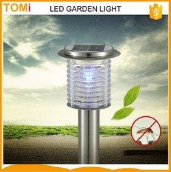 mosquito killer LED garder light Solar led street light NO need installed wire,Solar supply power No need electrical