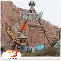China factory In Stock Outdoor Swing Equipment Amusement Park real Pirate Ship for Sale