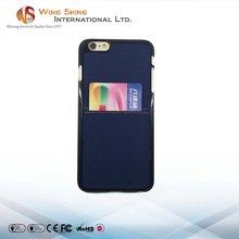Inhouse unique design efficient back slot for iphone 6s card holding case