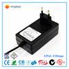 EU Wall plug 100-240v 50-60hz ac adapter 12v 3a