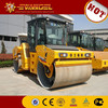 Price of 14 ton XCMG double drum vibratory road roller XD142