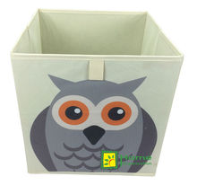 foldable owl storage box