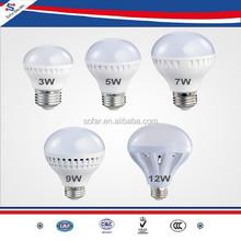 Factory Price Plastic LED Lighting Bulb 220V 3W 5W 7W 9W 12W 24W 36W