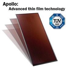 Hanergy Apollo efficient 60w solar panel mounting
