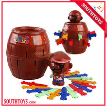 Classic Toy Game Pirate Bucket for Children Funny Lucky Stab Pop Up Toys Gadgets Pirate