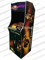 """Classical games 1000 in 1 Game PCB Street Fighting (Verical) arcade Machine With 19"""" LCD and American joystick and button"""