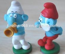 juguetes plástico de pitufo al por mayor , proveedor directo
