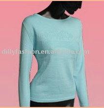 100% Cachemira de las mujeres atractivas del suéter de 2013 de la moda