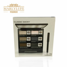 Hot selling colorful classic 6 color eye shadow palette