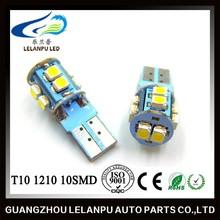 T10 1210 10SMD LED 12V Bulb Car Interior Led Light Furniture Led Head Light
