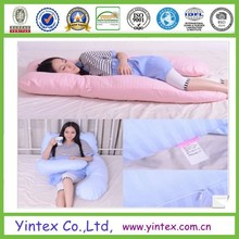 Oversized - Total Body Pregnancy Pillow- Full Support - w/ Zippered Cover