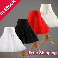 Free shipping Tutu Skirt Silps Crinoline rockabilly Bridal Wedding Petticoat Underskirt Ball Gown Petticoat for Wedding Dress