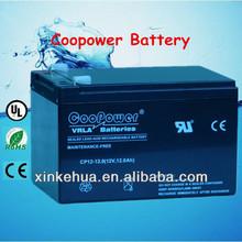 12v12ah Gel Sealed lead acid battery for solar system