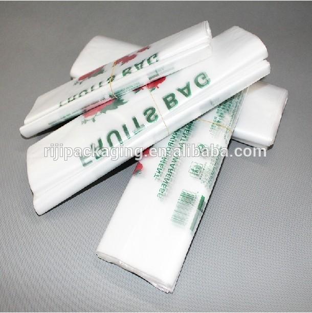 Xinriji plástico saco de mantimento China fabricante