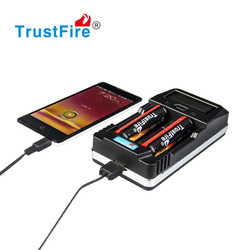 Trustfire original factory TR-011 AA and AAA usb ni-mh charger with CE certificate