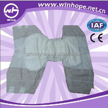 Disposable adult diaper 10pcs Per Pack Old people hygiene products cotton unisex diapers for adults