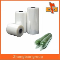 2015 best-selling food grade clear plastic PE protective film for vegetable packing OEM factory