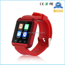 2015 New Smart Bluetooth Watch/ Dial / Alarm / Music Player / Pedometer for Android IOS HTC Mobile Phone
