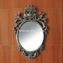 material de la resina de gran tamaño espejo marcos para la venta