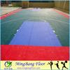 Sport's floor for outdoor sport Colorful PP Interlocking basketball flooring