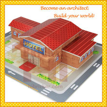 Gifts and Crafts for Children New Mini Construction Toy Hibricker 2015 ASTM, EN71 certificates