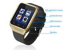 Great price of S8 Touch screen 3g WCDMA GPS Bluetooth Android GPS Watch Phone bluetooth smart watch mobile phone
