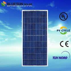 Bluesun china made factory supply off grid pv system use mini small solar module 12v for led street light
